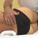 Lumbar mobility test